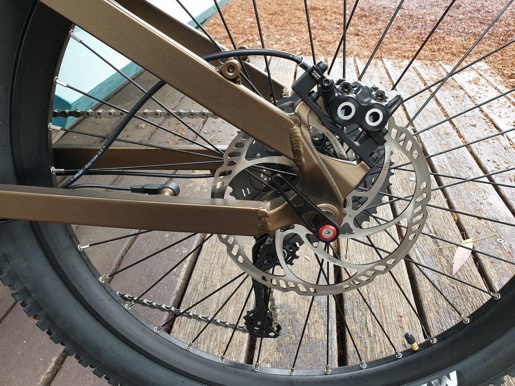 Frey EX Magura Brakes rear